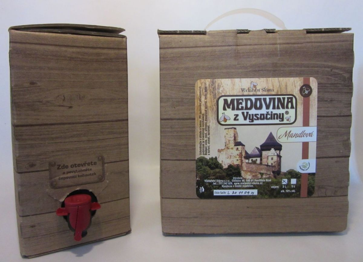 Mandel - Met - Honigwein 13 % - Jirka Sláma - Bag in box 3 l