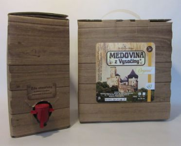 Original - Met - Honigwein 13 % - Jirka Sláma - Bag in box 3 l